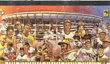 2000 PITTSBURGH PIRATES BOOK WITH 78 FULL TICKETS 3 RIVERS CLEMENTE STARGELL +++