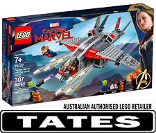 LEGO 76127 Captain Marvel and The Skrull Attack Super Heroes from Tates Toyworld