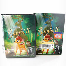 Disney BAMBI II DVD New! Sealed 2006 SLIP COVER Buena Vista Home Entertainment