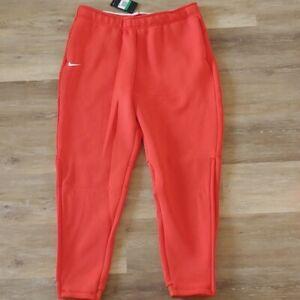 NWT NIKE Men's Dri-Fit Orange Therma Heavy Pants CI4461-891 Size XL