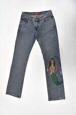 MISS SIXTY amazing vintage 90s 2000s RAVE denim jeans XS 34