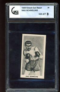 1938 Knock-Out Razor  #29 Max Schmeling GA 8