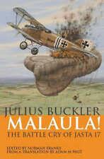 Malaula! The Battle Cry of Jasta 17, Julius Buckler, New Book