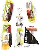 Corkscrew Wine Bottle Opener Double Reach Twin Pull Waiter's Friend By Apollo.