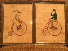 Vintage Turner Wall Art - Old Fashioned Bicycles