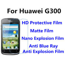 3pcs For Huawei G300 High Clear/Matte/Anti Blue Ray Screen Protector