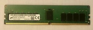 Micron 8GB 2Rx8 PC4-2666V RDIMM DDR4-21300 ECC REG Registered Server Memory RAM
