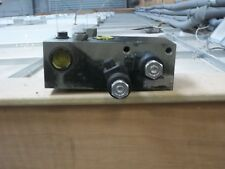 Block for Valve Block for a MF8210/8220