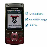 SAMSUNG G600 STEALTH PHONE, IMEI CHANGE, ANTI INTERCEPTION RARE PINK VERSION