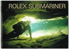 Rolex Submariner BLOCCHETTO 2001 opuscolo 16610 14060 16613 16618 16600 in acciaio gold