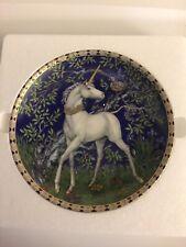 Hutschenreuther Germany DAS EINHORN IM ZAUBERGARTEN Unicorn Plate - No 3
