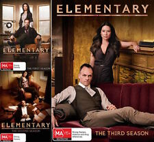 ELEMENTARY Seasons 1 2 3 : NEW DVD