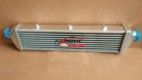 "550 x 140 x 65mm FMIC ALUMINUM TURBO INTERCOOLER 2.25"" INLET/OUTLET Bar & Plate"