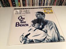 On The Beach Laserdisc NOT DVD 1959 Gregory Peck Ava Gardner Widescreen 2-Disc