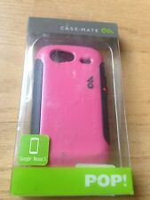New Case-Mate Pop Pink Gray Hybrid Case Cover For Google Nexus S CM013464