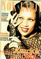 VANESSA  WILLIAMS,TINA TURNER,BROOKE SHIELDS,LARRY HAGMAN  Hungarian magazine