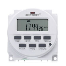 12V 16A Automatic LCD Digital Electric Programmable Relay Control Timer Switch