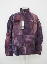 RAPHA Men's Purple Zip/Poppers Outskirts Tie Dye Wind Jacket Pop Size L NEW