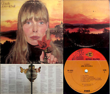JONI MITCHELL rare LP: Clouds - original 1969 pressing with art error on back EX