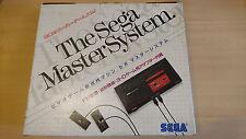 Console SEGA Master System import japon en boite rare