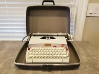 Vintage Sears Electric Typewriter Celebrity Power 12 W/Portable Case