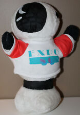 "Vancouver World Expo 86 Stuffed Mascot Ernie Robot 13"" 1986"