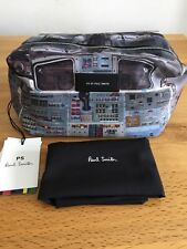 PAUL SMITH MENS WASHBAG £110 SPACE DESIGN NEW WITH DUST BAG AND TAGS