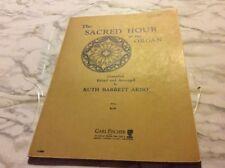 The Sacred Hour at the Organ Ruth Arno Sheet Music book 1939