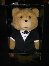 """TED Movie Tuxedo Teddy Bear Limited Edition 24"""" Talking 12 Phrases Rated R EUC"""