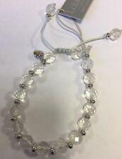 Lola Rose Grady Rock Crystal e Argento Bracciale Nuovo di zecca, sacchetto da regalo donna