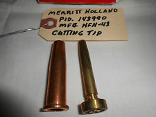 New listing Merritt Holland Cutting Tips P I D 143990, Mfg Hfh 43