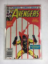 Avengers #224  F+  Marvel comic 1982