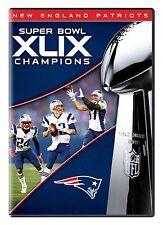 NFL Super Bowl Champions 49 XLIX [DVD] NEU New England Patriots Seattle Seahawks