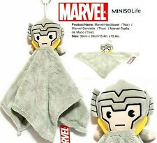 "Miniso Marvel Avengers THOR 15.4"" x 15.4 "" Soft Plush Hand Towel - RARE"