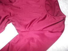 Ladies Tunic Dress Long Sleeved Top Tops No Iron Shirt Work Blouse Size 8 10