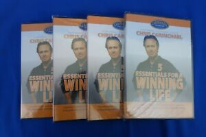 NEW CTS Chris Carmichael Training Systems 4DVD - 5 Essentials For A Winning Life