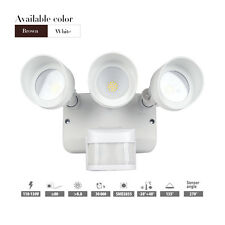 Outdoor 36w Wall Pack Security LED Flood light 3000lm with 3 adjustable Head