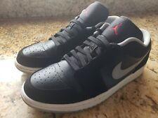 Nike Air Jordan Shoes Basketball Retro 1 Low Black -[553558 032]- (Sz. 11) [EUC]