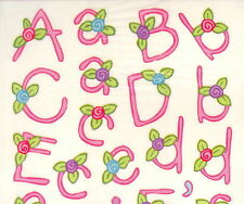 Miss Elizabeth clear stickers-El Alfabeto Espanol.