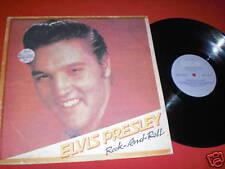 LP ELVIS Rock And Roll BULGARISCHE PRESSUNG BTA 12061
