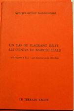 SURREALISME/LES CONTES DE M.BEALU/GOLDSCHMITD/LE TERRAIN VAGUE/1966/EO/H.PARISOT
