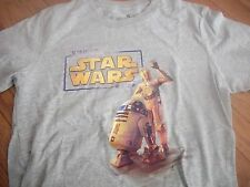 STAR WARS official KINECT promotional R2-D2 & C3P0 t-shirt Adult Small Near Mint