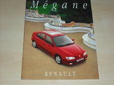 40487) Renault Megane Prospekt 11/1995