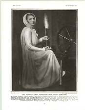 1929 Miss Mary Newcomb As Lady Hamilton Stafford Hilliard