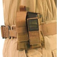 Blackhawk Belt Mounted Double Pistol Mag Pouch - Coyote
