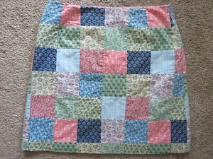 NO RESERVE! VINEYARD VINES by SHEP & IAN PATCHWORK SKIRT-OCTOPUS,BOATS - SIZE 4