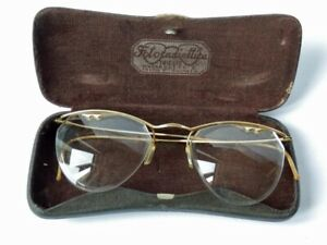 ANTICHI OCCHIALI FOTORADIOTTICA Trieste antique eyewears glasses