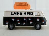"""Brekina 3247 VW-Kasten T1b (1959) """"CAFE HAG"""" in schwarz/weiß 1:87/H0 NEU/OVP"""
