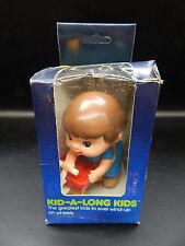 1978 vintage TOMY windup KID-A-LONGS boy on wagon wind up toy MIB mip RARE child