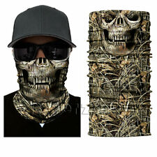 Skull Dregs Camo Face Shield Sun Mask Balaclava CS Sport Helmet Biker Hood